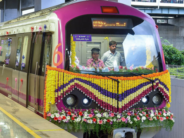 Technical error: Namma metro six coach service interrupted again