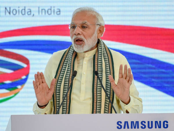 Pm Modi Opens Worlds Largest Mobilephone Factory Noida