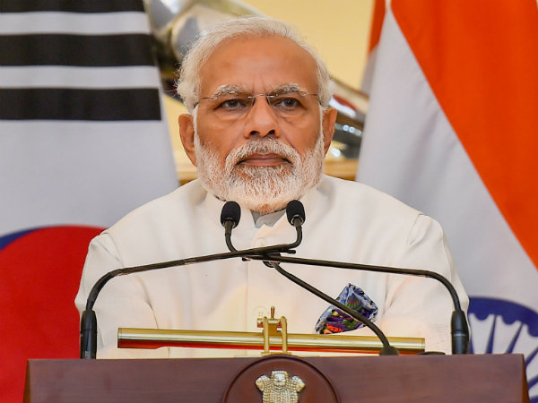 Narendra Modi today interact with self help groups members