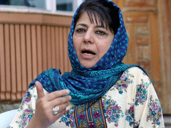 Mehbooba rubbishes reports of PDP-Cong alliance