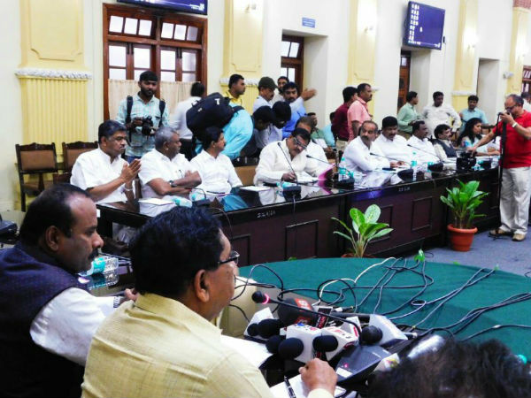 DCM asks Bengaluru authorities to curb illegal cable on ground