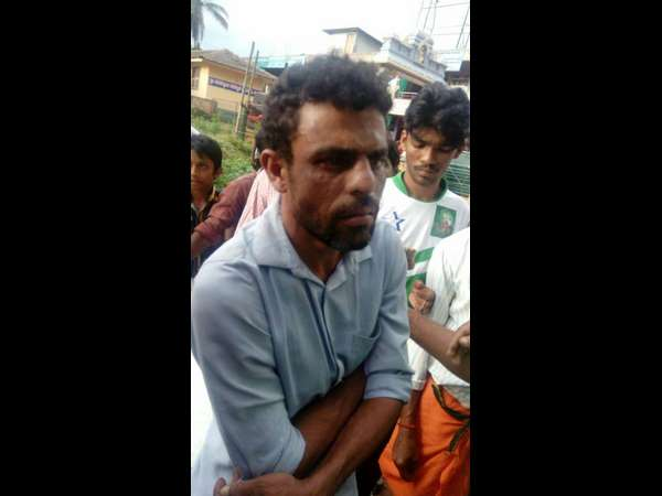 Public has beaten father of the child in Ujire