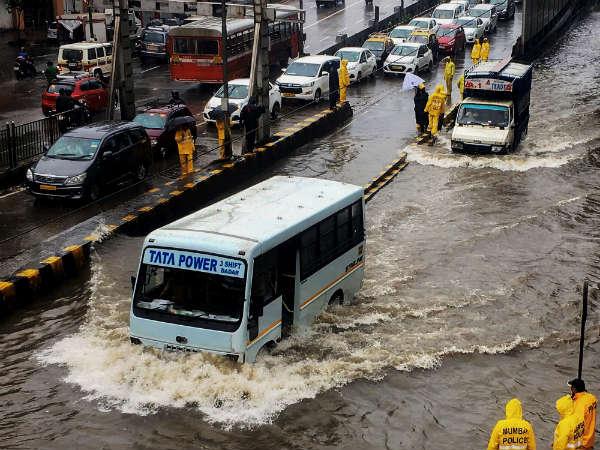 In Pics Mumbai City Struggling After Non Stop Heavy Rain