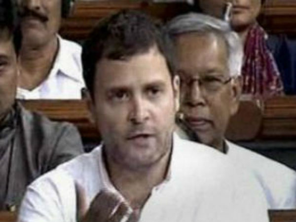 Rahul Gandhi speech in Parliment during no confidence motion