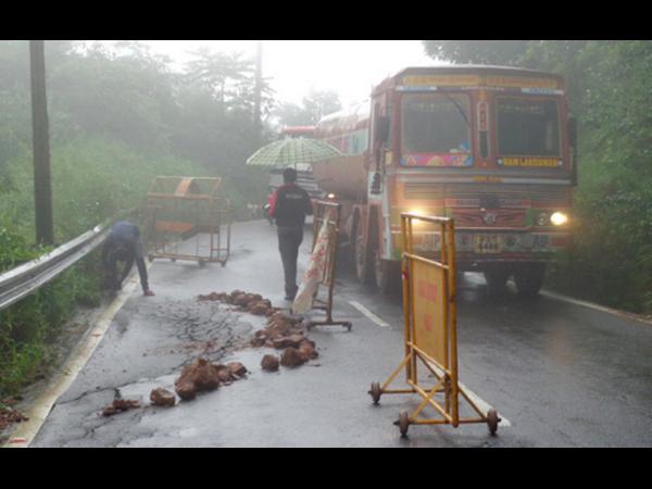 Madikeri Damaged Bantwal Mysuru Highway Creates Tension