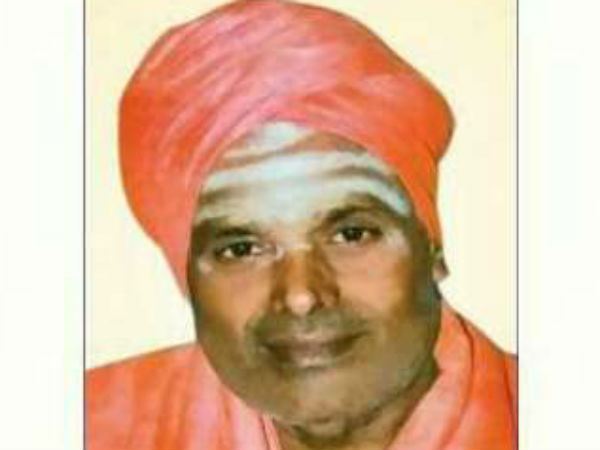 Sadashiva Swamiji (60) died from a heart attack