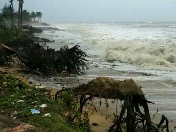 Sea Erosion In Mangaluru Beaches Intensifies