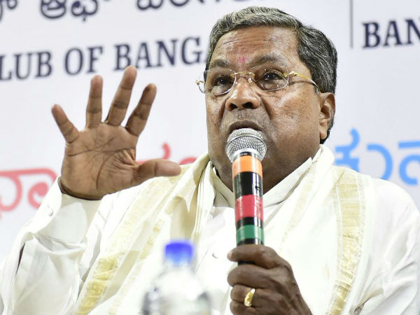 Siddaramaiah says those who demand a separate North Karnataka are selfish