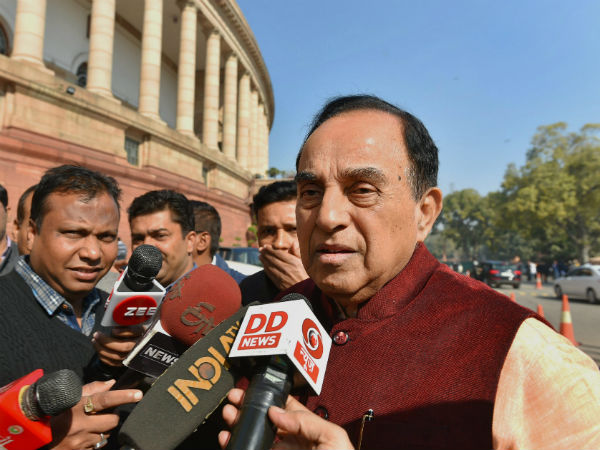 Section 377: Homosexuality against Hindutva, cannot celebrate it: Subramanian Swamy