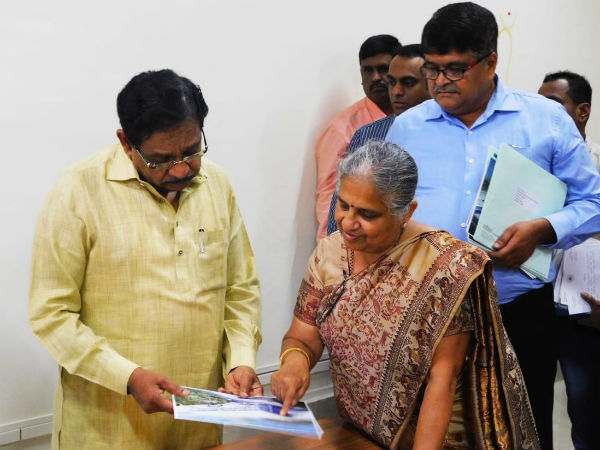 Parameshwar seeks corporate fund for police housing scheme