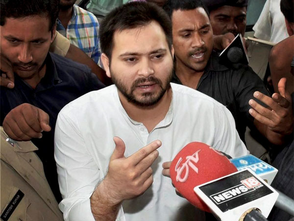 Tejaswi Yadav says BJP a party of goons and shared a viral video