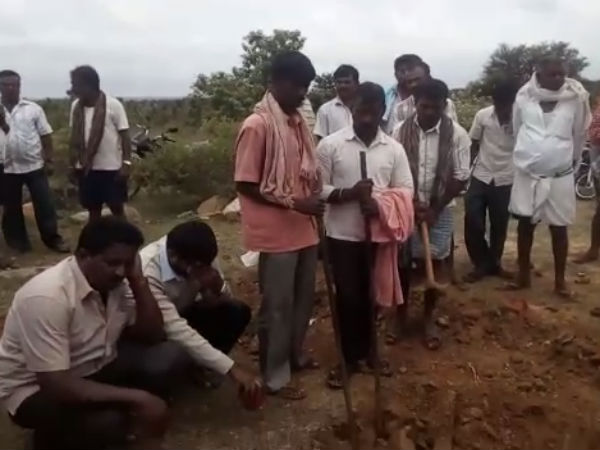 4 arrested by police who were digging land for treasure