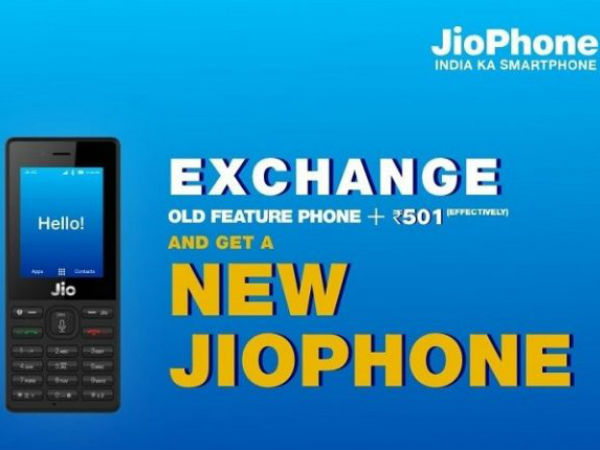 Monsoon Offer Exchange Any Old Feature Phone For New Jiophone