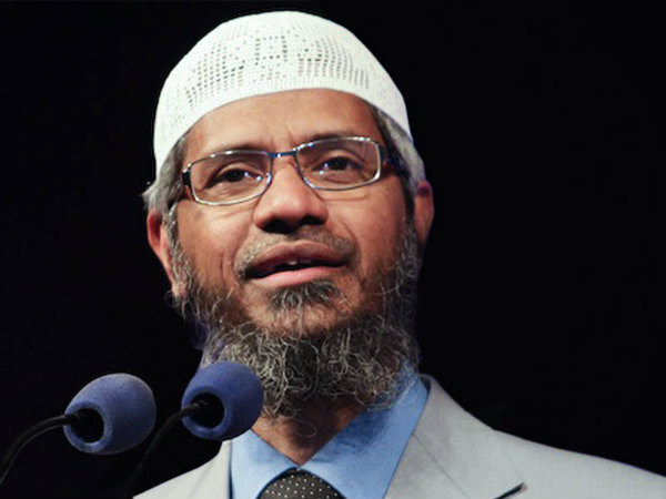 News of my coming to India is totally baseless and false: Zakir Naik
