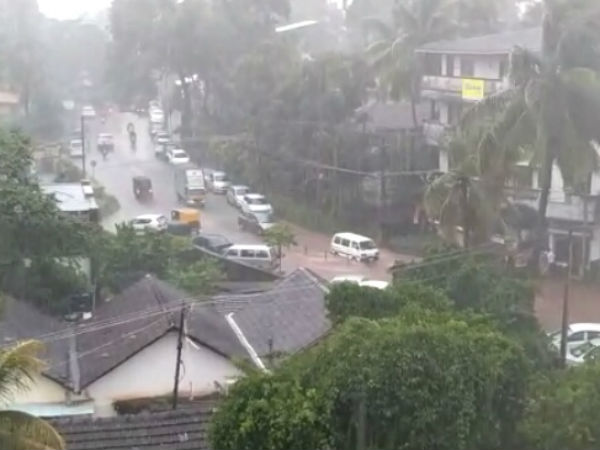 Heavy Rain Fall warning for coastal Karnataka