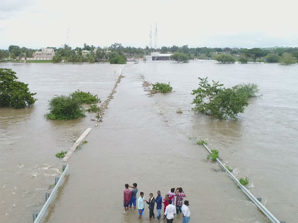 Flood in the Kapila river has declined
