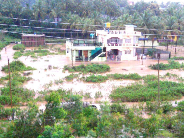 Shimoga district has continuous rain for last two weeks