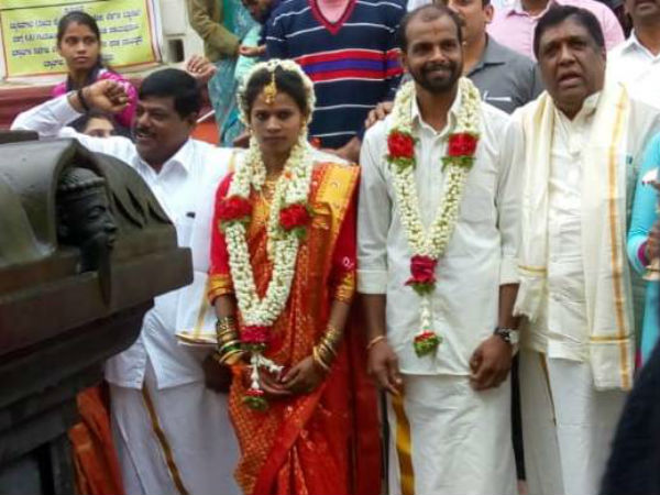 Madikeri witness for marriage after floods