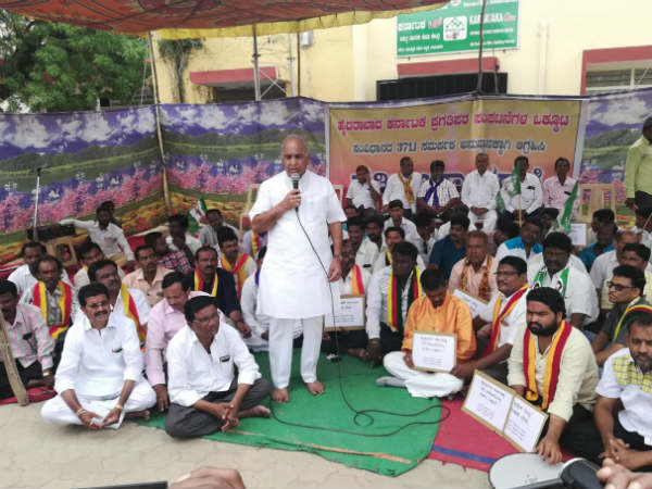 Karnataka Rakshana Vedike did not support a separate state in Raichur, Chikmagalur