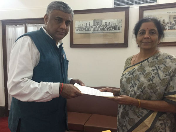 rajyasabha member rajeev gowda letter to nirmala sitharaman not to shift aero india