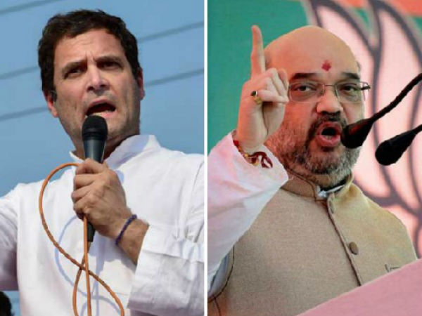 Amit Shah attacks Rahul Gandhi by his speech in Rajasthan