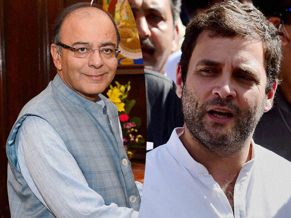 Rahul reminds deadline to form JPC to FM Arun Jaitley