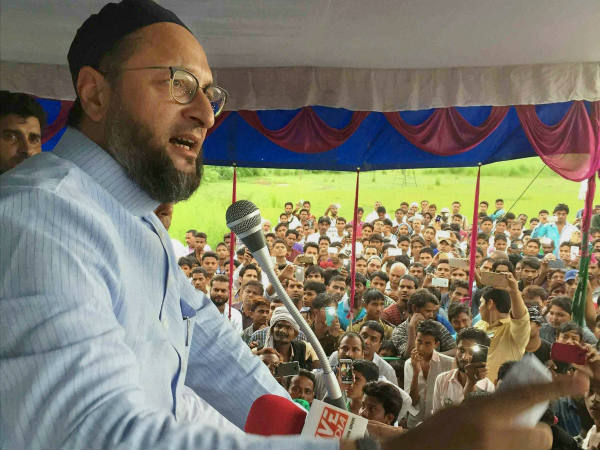 Even if you slit our throat, well be Muslims: Asaduddin Owaisi