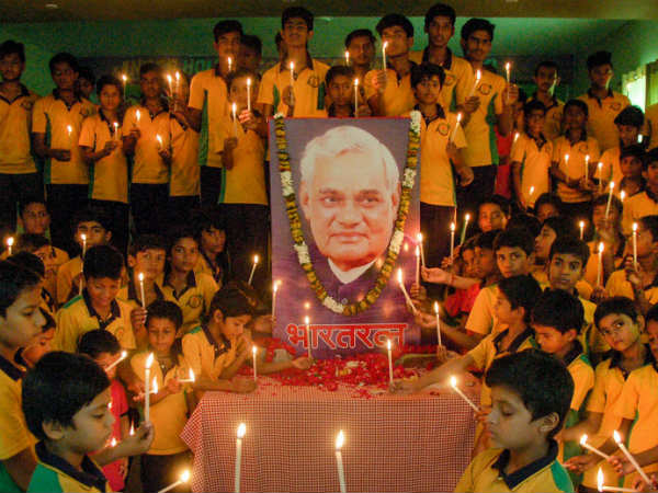 Atal Bihari Vajyapee - sparkling star of Indian politics