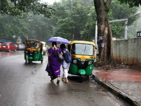 Showering and drizzling across Bengaluru since morning