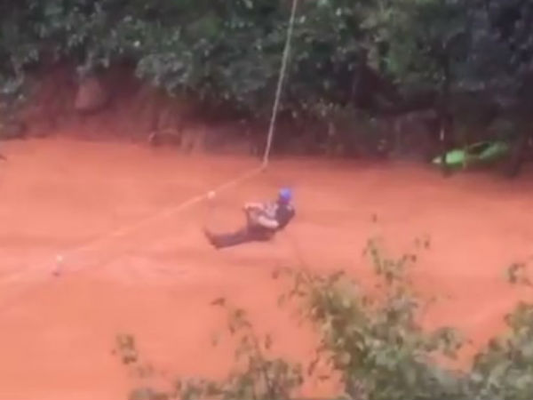 Rescue operation video of 2 month old baby went viral