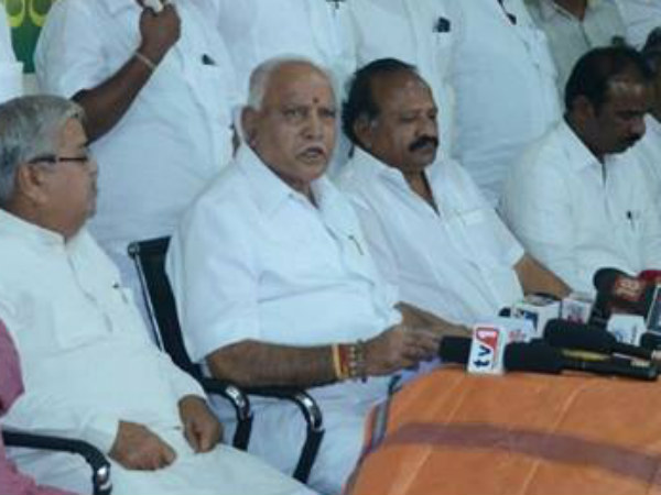 Yeddyurappa Said CM Kumaraswamy statement on Loan waiver has surprise.
