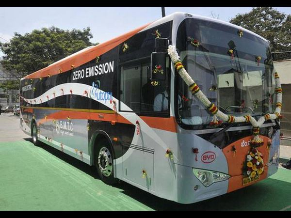 BMTCs electric buses to hit roads in October