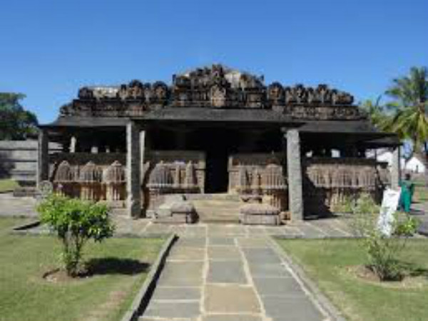 Amrutheshwara temple is completely damaged