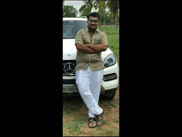 MLAs grand son died in car accident near Lingasagur