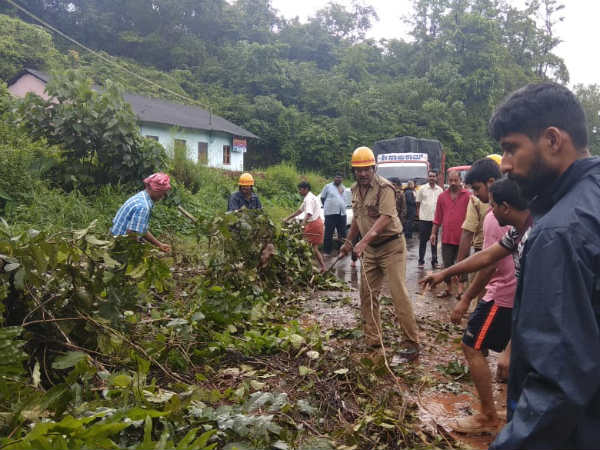 Big challenge for CESCOM to restore power supply in Madikeri