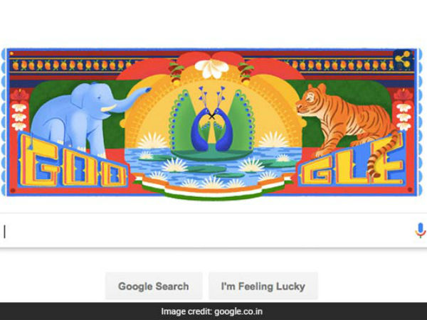 72nd Independence Day 2018: Google Doodle Celebrates With Truck Art