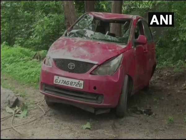 7 children of family killed in car accident: Gujarat