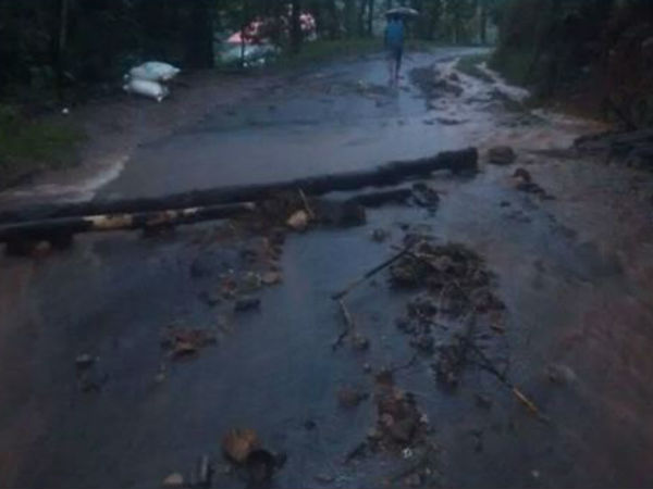 More than 45 landslide case reported in Shiradi Ghat road