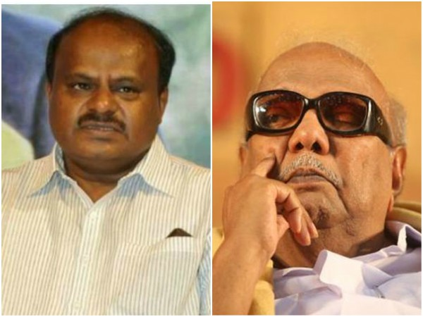 CM Kumaraswamy going to Chennai to meet Karunanidhi