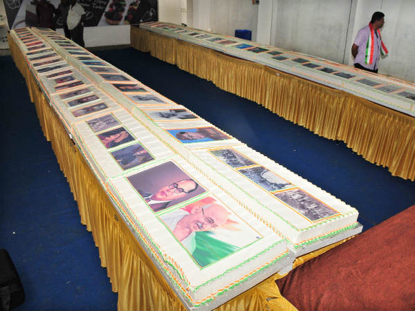 480 kg Weighing cake is made in Mysore