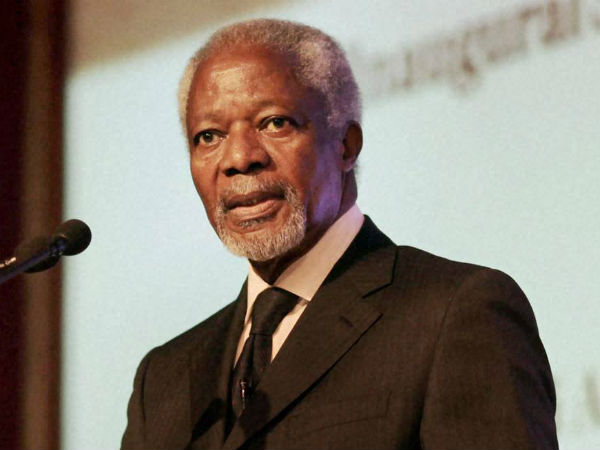 former UN Chief Kofi annan passes away