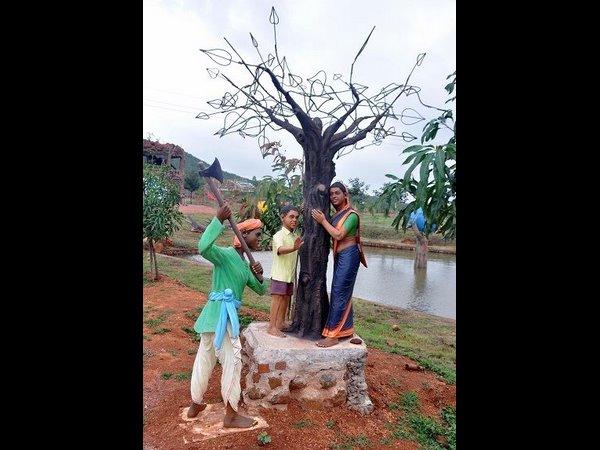 ಕೊಪ್ಪಳದ ಹೊಸ ಆಕರ್ಷಣೆ: ಸಾಲುಮರದ ತಿಮ್ಮಕ್ಕ ವೃಕ್ಷ ಉದ್ಯಾನವನ
