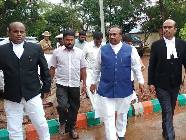 Violation of model code of conduct: BJP leader Eshwarappa attended Gundlupet court