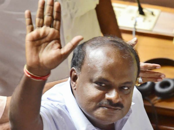 CM Kumaraswamy visiting Shimogga district on August 18