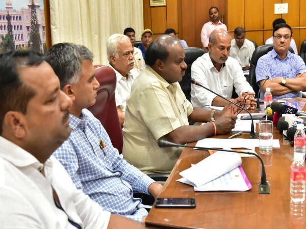 CM Kumaraswamy releases 200 crore to rain affected districts
