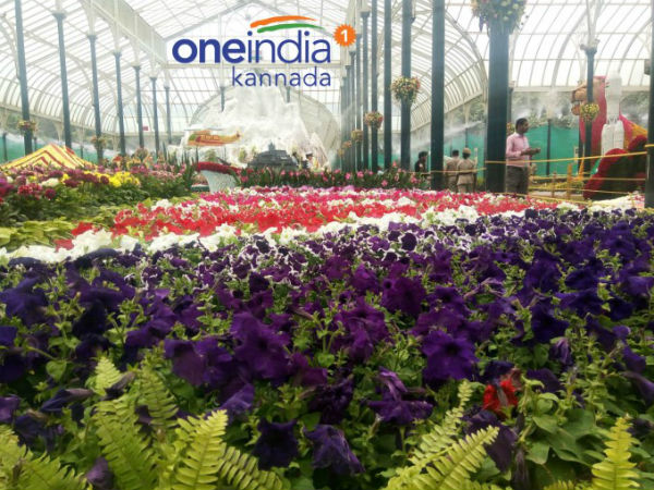Lalbagh flower show won the heart of 5 lakh people