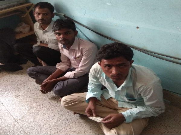 Three Gold thieves arrested by Maddur Police