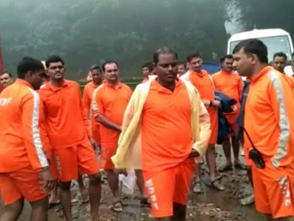 Ndrf Team Rescued 700 People In Jodupala Village