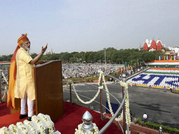 PM Modi's Independence Day speech to be live-streamed on YouTube