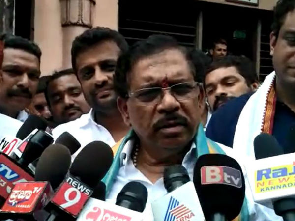 No alliance with jds in local body elections: G Parameshwar